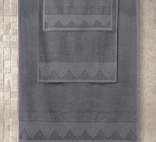 "Полотенце махровое ""KARNA"" жаккард SIESTA (70x140) см 1/1"