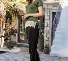 Женский комплект для дома и отдыха (SUXE 4503)