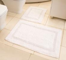 """Набор ковриков для ванной """"MODALIN"""" KARLA 60x100 + 60x50 см 1/2"""