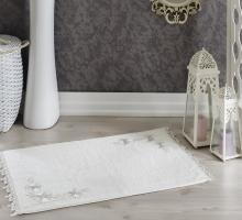 """Коврик махровый для ванной """"IRYA"""" французский кружевной EMOTION 60x90 см 1/1"""