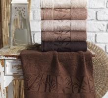 "Полотенце бамбуковое ""KARNA"" PAMIRA (70х140) см 1/1"