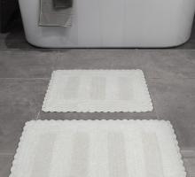 """Набор ковриков для ванной """"KARNA"""" LENA  50x70+60x100 см 1/2"""