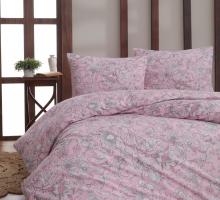 """Постельное белье """"KARNA"""" бязь ROSINA ( 1,5 сп) 70х70*1 шт (Розовый)"""